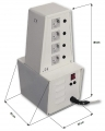 Isolation transformer to 8 outlets