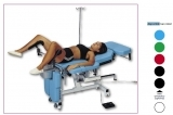 Multi-purpose surgical tables with 4 sectors with fixed height (