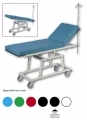 Cot mobile visit and emergency room with 20 ° Trendelenburg