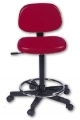 Swivel stool with back