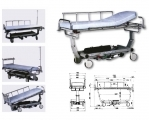 Stretcher polyvalent intensive care unit hydraulic adjustment /