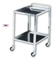 Stainless steel trolley 70x50x82 cm Art. 1261