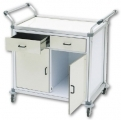 Utility Cart with doors & drawers art. 2870