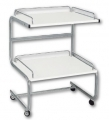 Trolley with 2 shelves art. MED00227