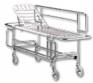 Basket stretcher with backrest & banks art. 2489/AS