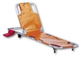 Auxiliary stretcher with backrest art. 2488 / 2